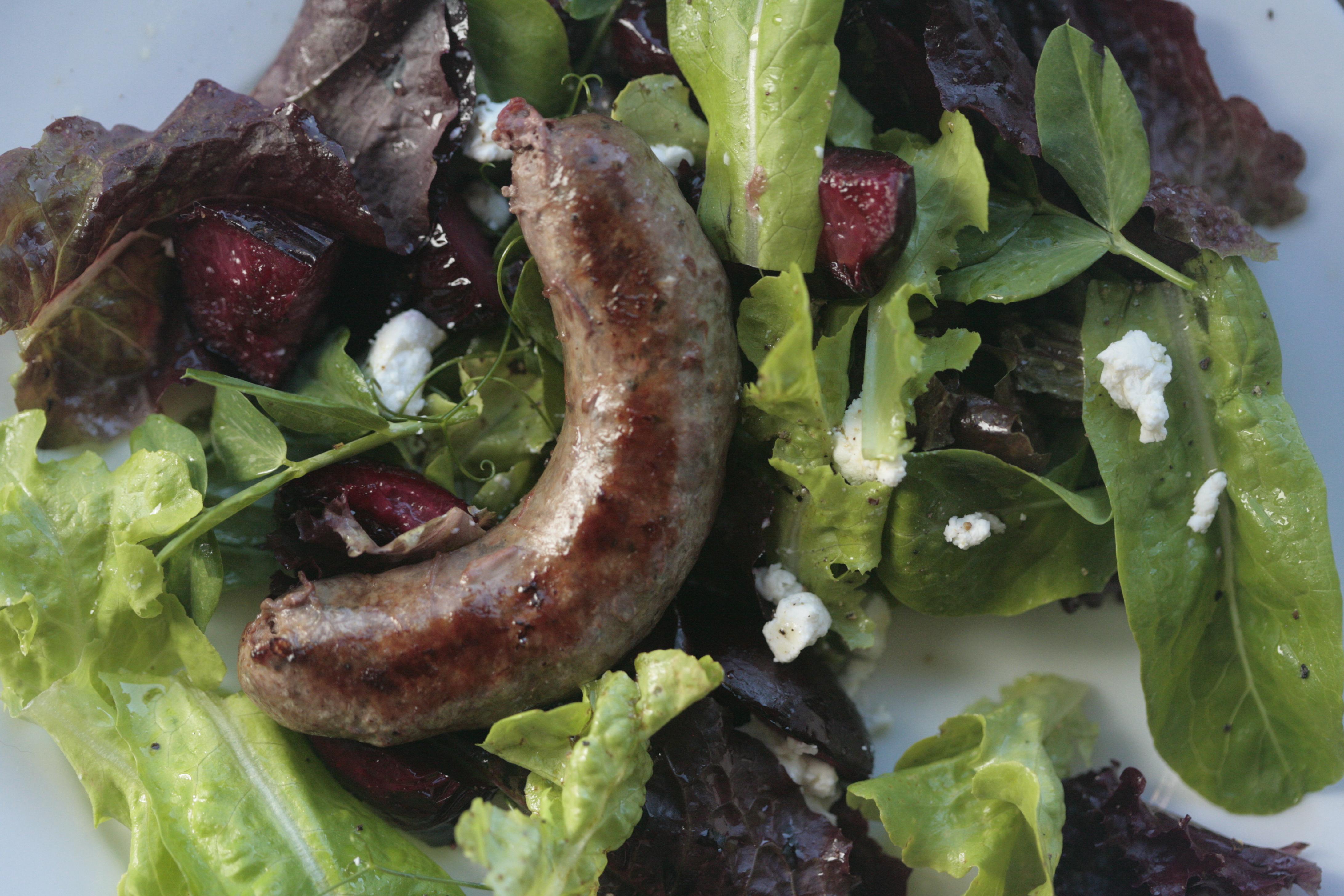 how to make lamb sasages