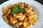 orecchiette bolognese, from The Kitchen Ninja