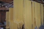 drying spaghetti, from Grow it Cook it Can it