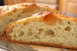 No-Knead Bread, from Adventures of the Kitchen Ninja