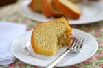 buttermilk rum pound cake, from Adventures of the Kitchen Ninja