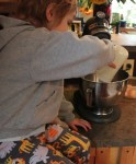 making butter, from Grow and Resist