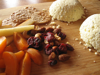 Farmers Cheese with Fruit and Nuts, from Homemade Trade