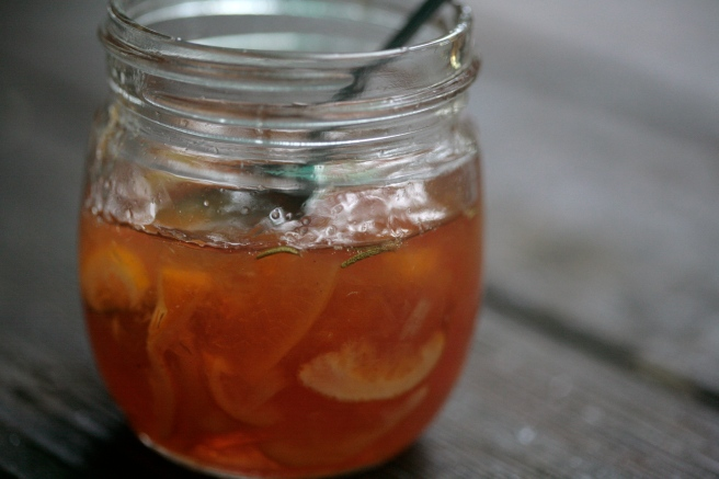 citrus-quince-rosemary marmalade