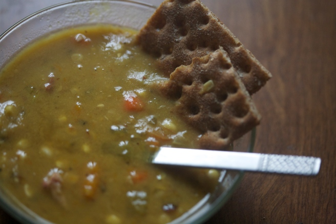 really amazing split pea soup