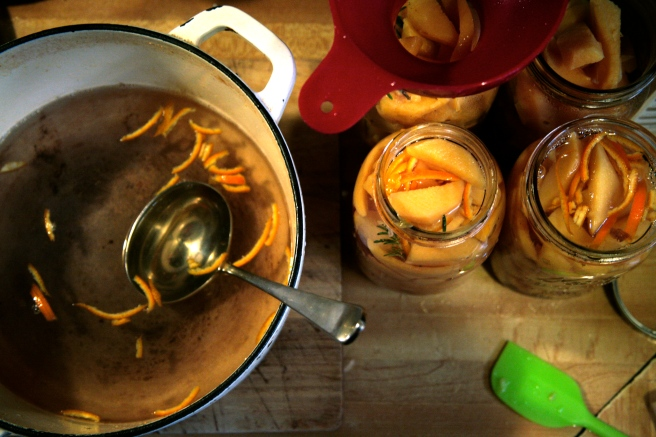 canning quince